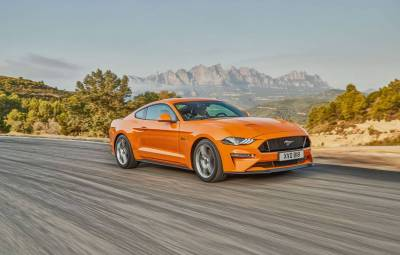 Ford Mustang facelift - Europa