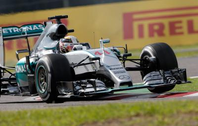 Lewis Hamilton - castigator Suzuka 2015