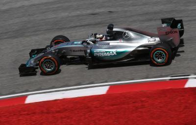 Lewis Hamilton - pole position Malaezia 2015