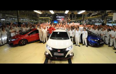 Noua Honda Civic Type R - startul productiei