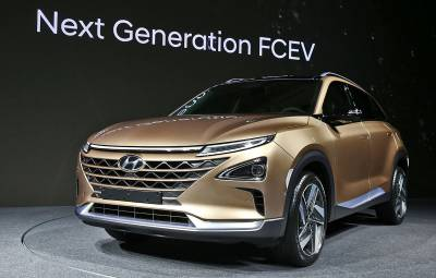 Hyundai SUV - alimentat cu hidrogen