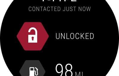 Jaguar Land Rover - aplicatie compatibila Android Wear Watch