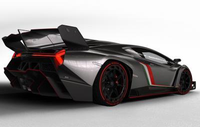 Lamborghini Veneno - spate