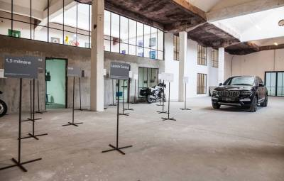Lansare BMW X3 - BMW Seria 6 GT, Romania