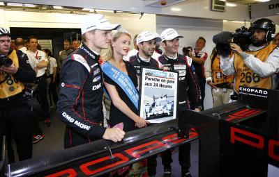 Le Mans 2015 - Porsche pole position