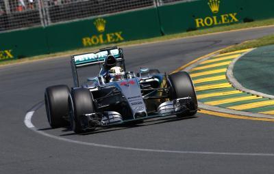 Lewis Hamilton - pole position Australia 2015
