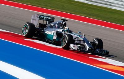 Lewis Hamilton - castigator Austin 2014