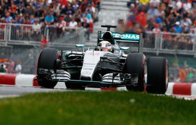 Lewis Hamilton - castigator Canada 2015