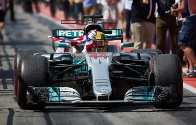 Lewis Hamilton - castigator Canada 2017