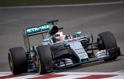 Lewis Hamilton - castigator China 2015