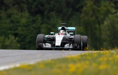 Lewis Hamilton - pole position Austria 2015