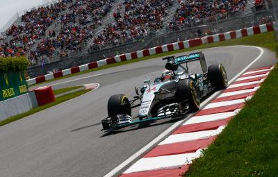 Lewis Hamilton - pole position Canada 2015