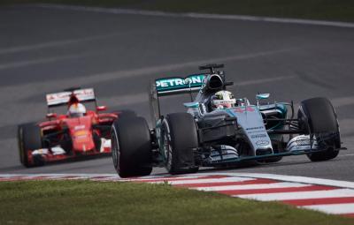 Lewis Hamilton - pole position China 2015