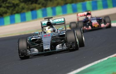 Lewis hamilton - pole position Hungaroring 2015