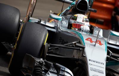Lewis Hamilton - pole-position Monaco 2015