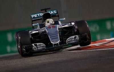 Lewis Hamilton - pole position Abu Dhabi 2016