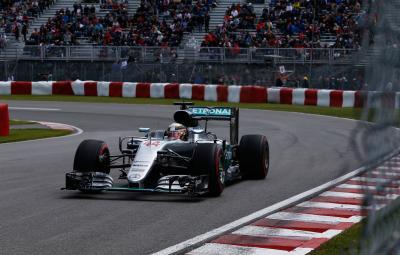 Lewis Hamilton - pole position Canada 2016