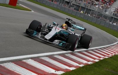 Lewis Hamilton - pole position Canada 2017