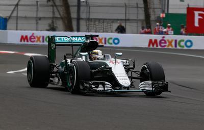 Lewis Hamilton - pole position Mexic 2016