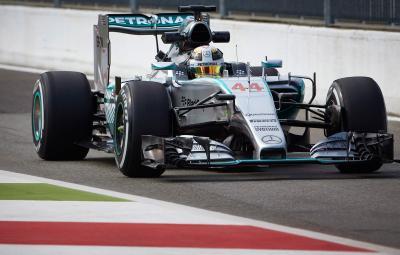 Lewis Hamilton - pole position Monza 2015
