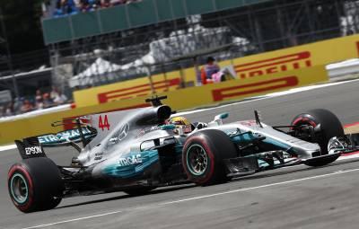 Lewis Hamilton - pole position Silverstone 2017