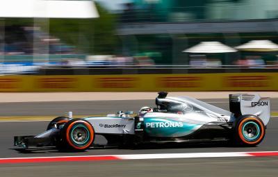 Lewis Hamilton - pole position Silverstone 2015