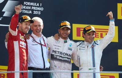 Lewis Hamilton - castigator Monza 2015