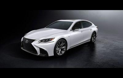 Noul Lexus LS F SPORT