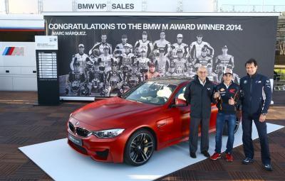 Marc Marquez - castigator BMW M Award 2014