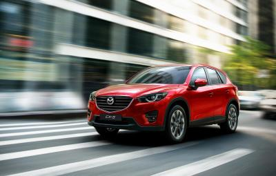 Noua Mazda CX-5 facelift 2015