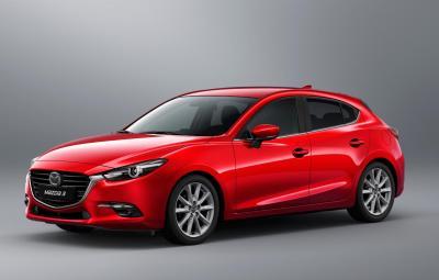 Noua Mazda3 facelift 2017