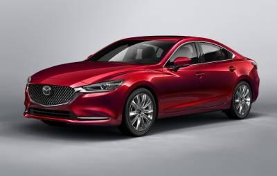Mazda6 facelift 2018
