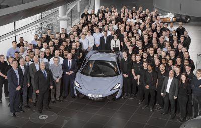 McLaren - 10.000 de masini la Woking