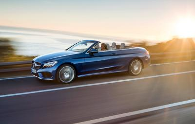 Noul Mercedes-Benz C-Class Cabriolet - video
