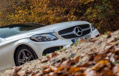 Mercedes-Benz - partea frontala