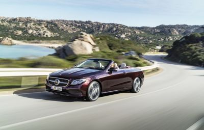 Noul Mercedes-Benz E-Class Cabriolet - trailer video