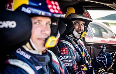 Nasser Al-Attiyah - castigator Dakar 2015