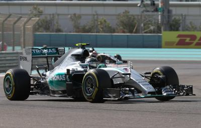 Nico Rosberg - castigator Abu Dhabi 2015