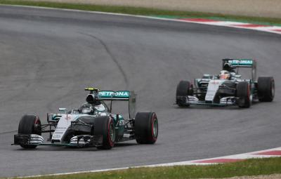 Nico Rosberg - castigator Austria 2015