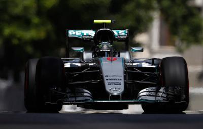Nico Rosberg - castigator Baku 2016