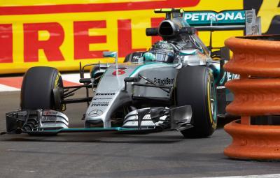 Nico Rosberg - castigator Monaco 2015