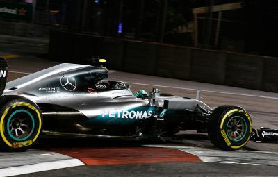 Nico Rosberg - castigator Singapore 2016