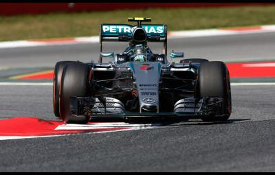 Nico Rosberg - pole-position Barcelona 2015