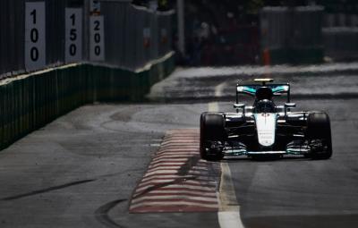 Nico Rosberg - pole position Baku 2016