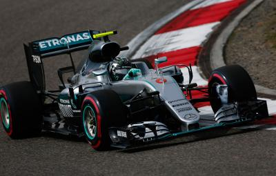 Nico Rosberg - pole position China 2016
