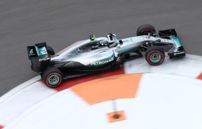 Nico Rosberg - pole position Rusia 2016