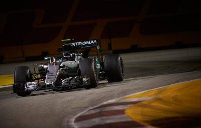 nico Rosberg - pole position Singapore 2016