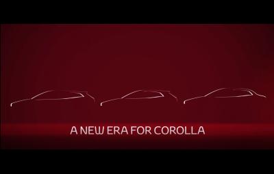 Toyota Corolla sedan 2019