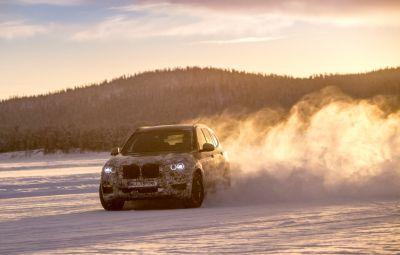 Noul BMW X3 2018 - teste Suedia
