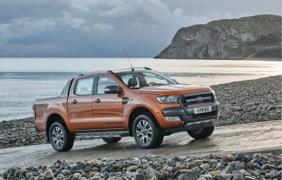 Noul Ford Ranger Wildtrack 2016